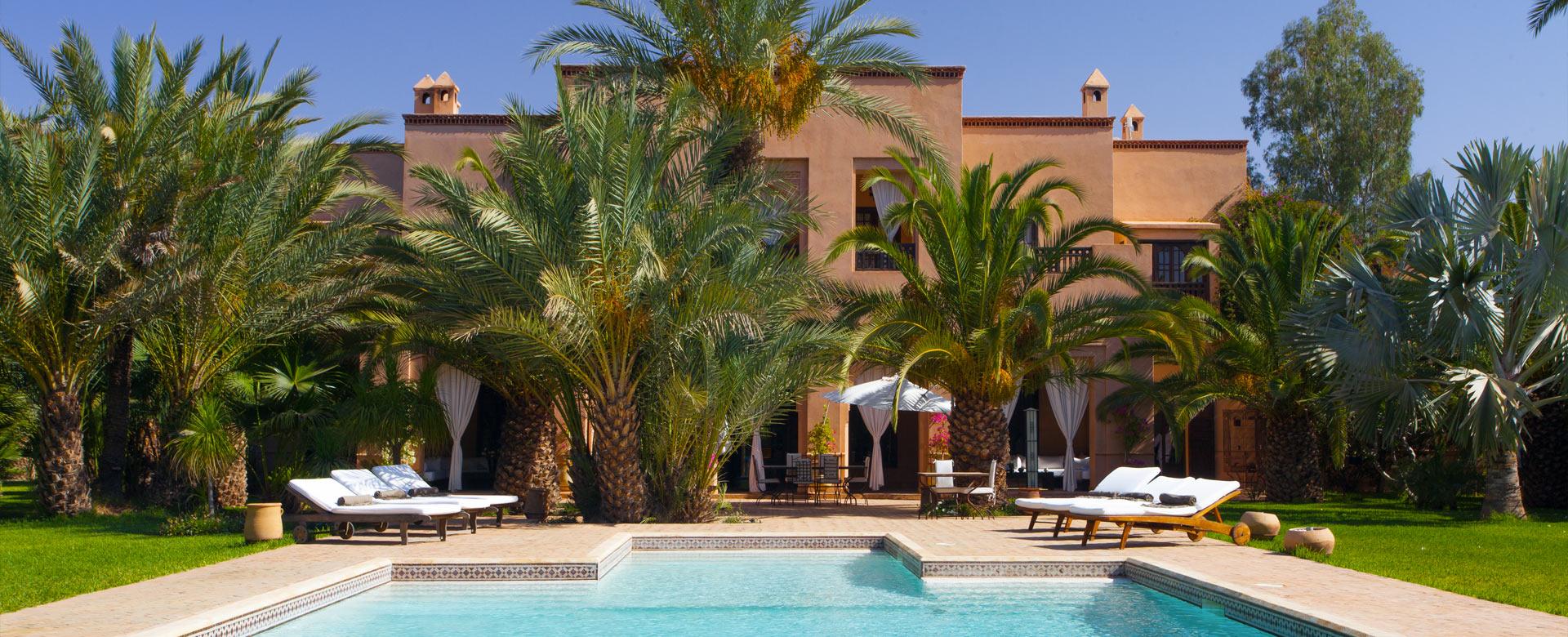 Location de villa et de riad de luxe au Maroc   Villanovo