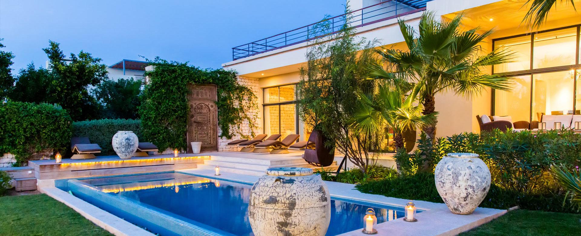 Luxury villa rentals in essaouira villanovo - Les jardins de villa maroc essaouira ...