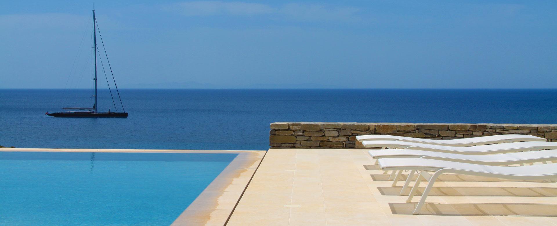 Location de villas de luxe en gr ce - Location maison piscine portugal ...
