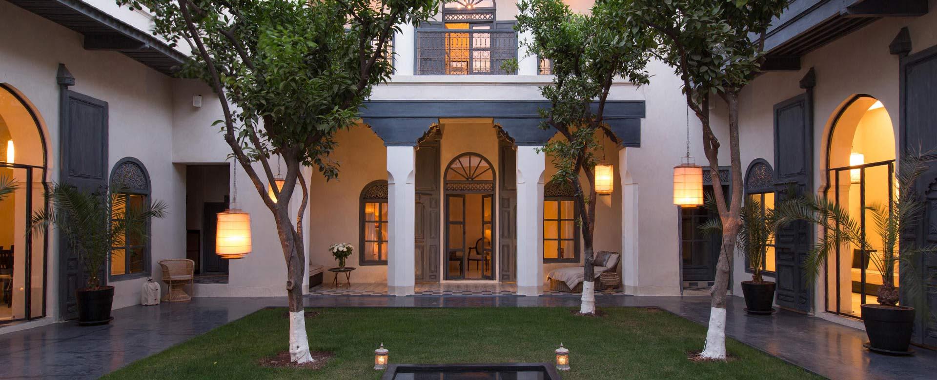 Luxury riad rentals in morocco for Luxury riad in marrakech