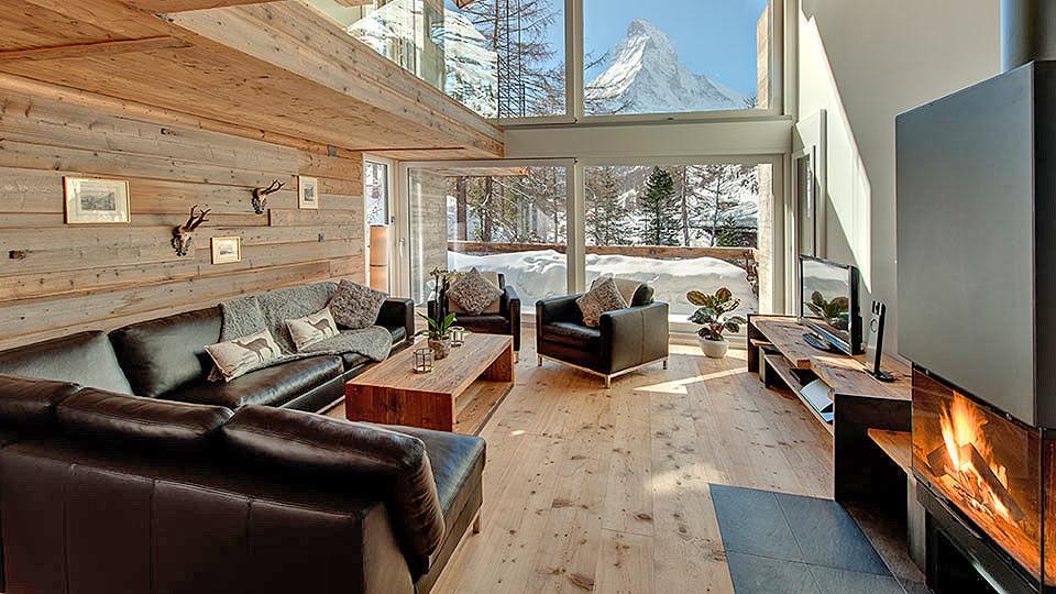 zermatt chalet mieten ski chalet zermatt luxus chalet. Black Bedroom Furniture Sets. Home Design Ideas