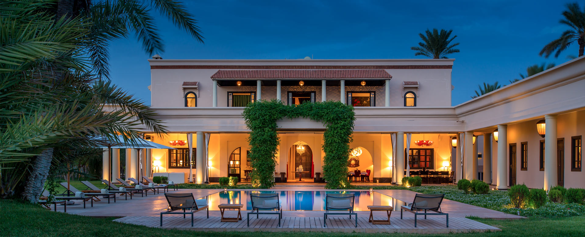 Villas Rentals In Marrakech With Heated Pool Villanovo