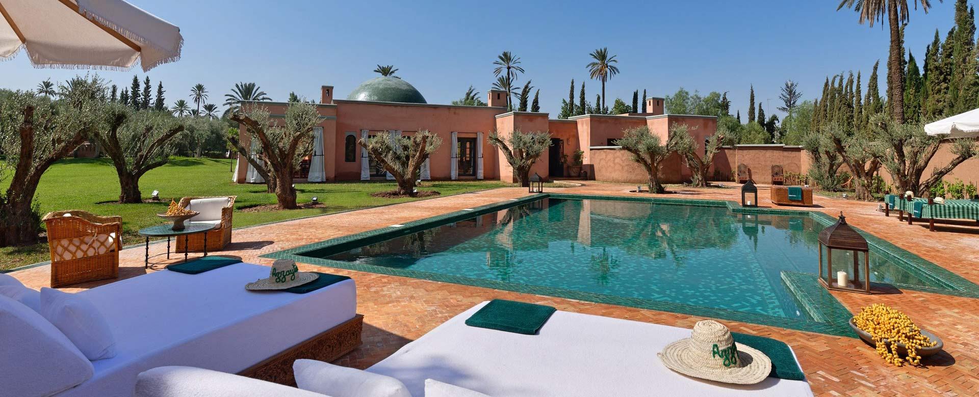 villa avec piscine chauff e marrakech