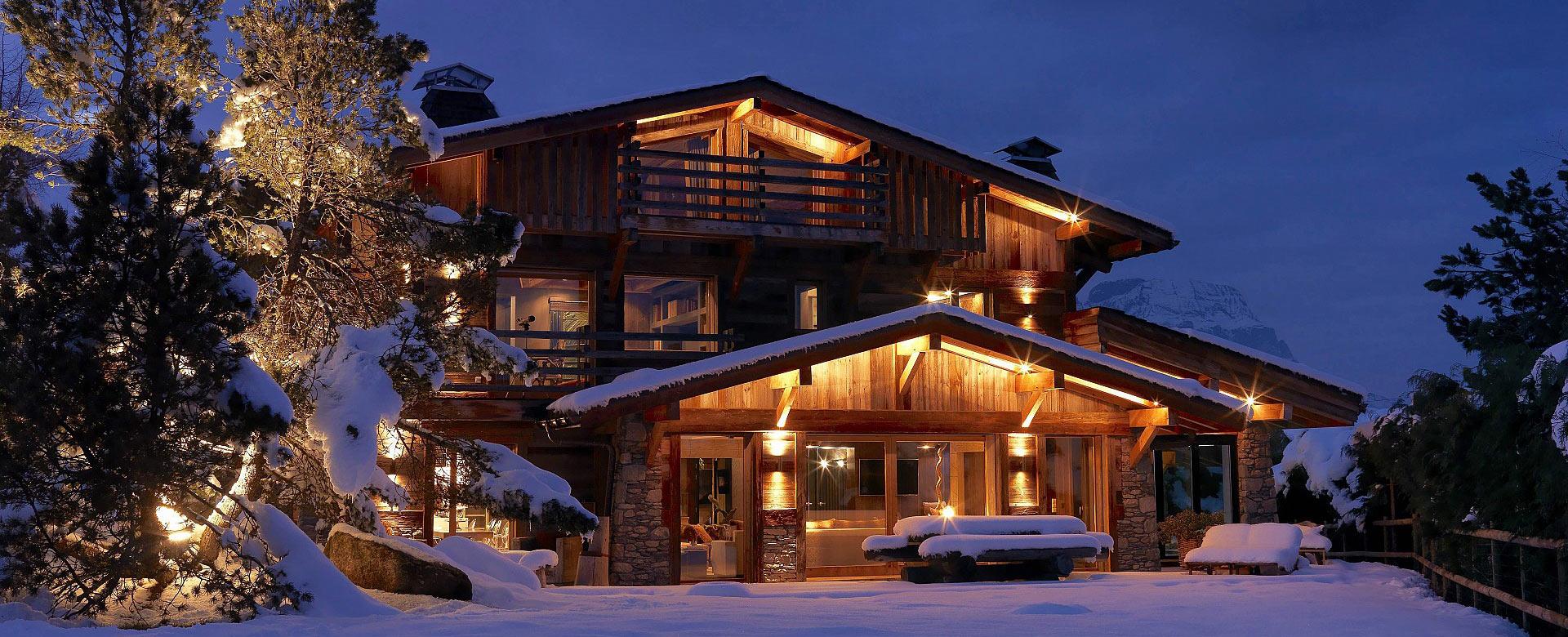 Villa rentals in Megève