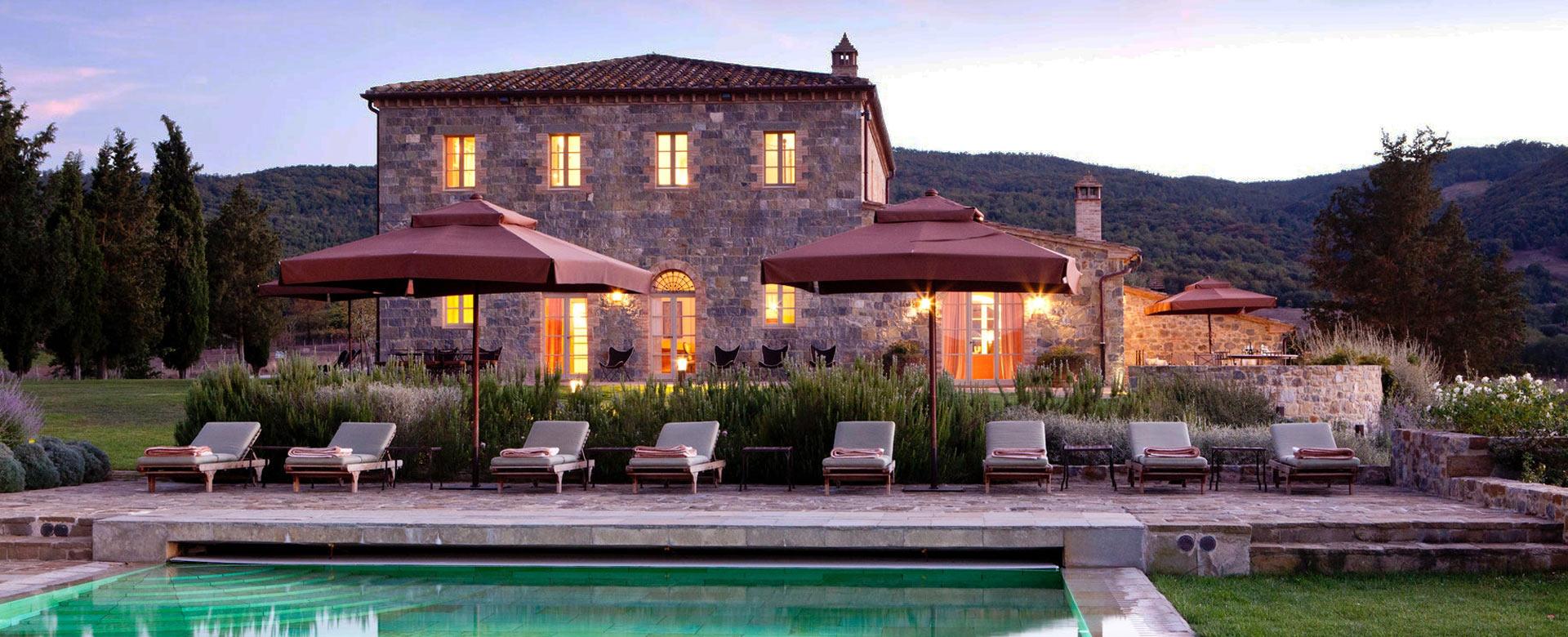 alquiler villas de lujo en toscana