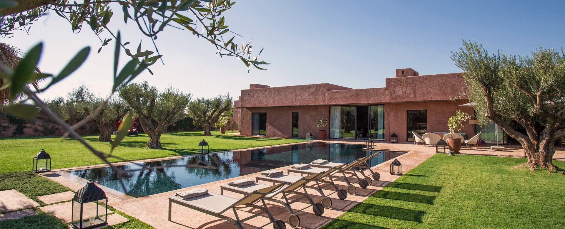 Affitto villa marrakech villa vacanze marrakech villa di for Ville di lusso in affitto