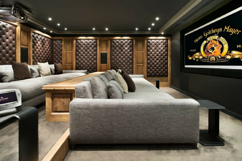 Top 11 of the most beautiful luxury villas with a home cinema room