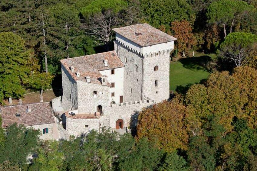 Villa Magrano, Umbria