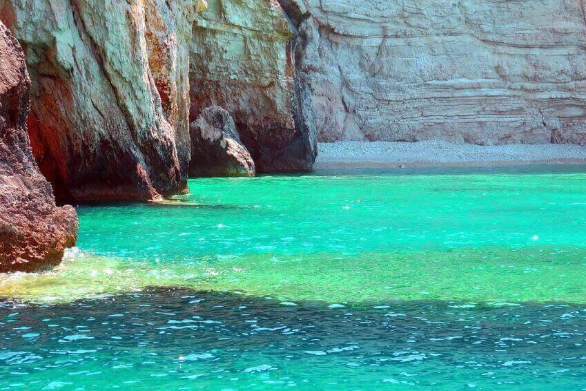 Calanque of Tsigrado - Greece