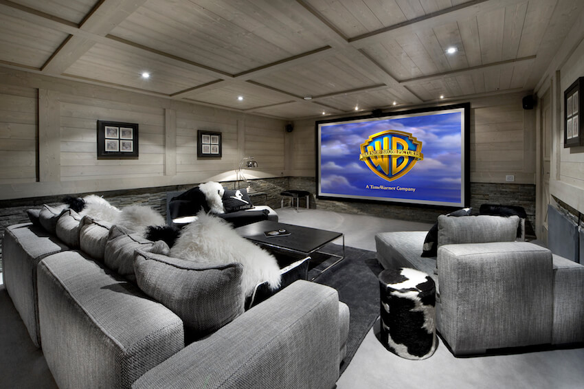 9. Cinema room