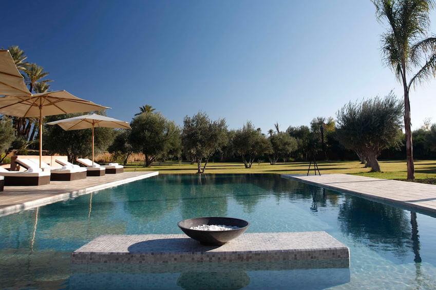 8. Heated pool