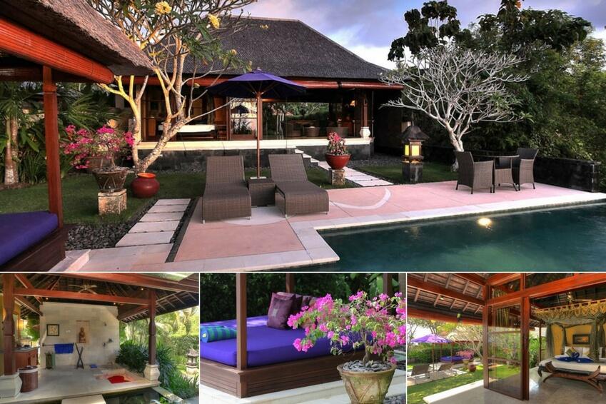 2. Romantic getaway to Bali at Villa Bulan Madu