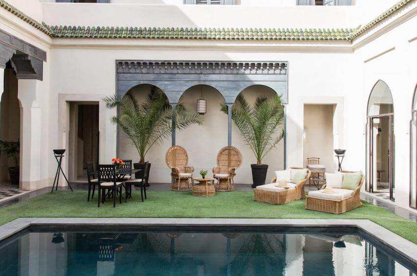 Your stay in villas and riads that are just like home