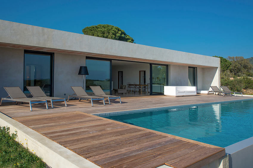Villa Marinka: total immersion in the beautiful landscapes of Southern Corsica