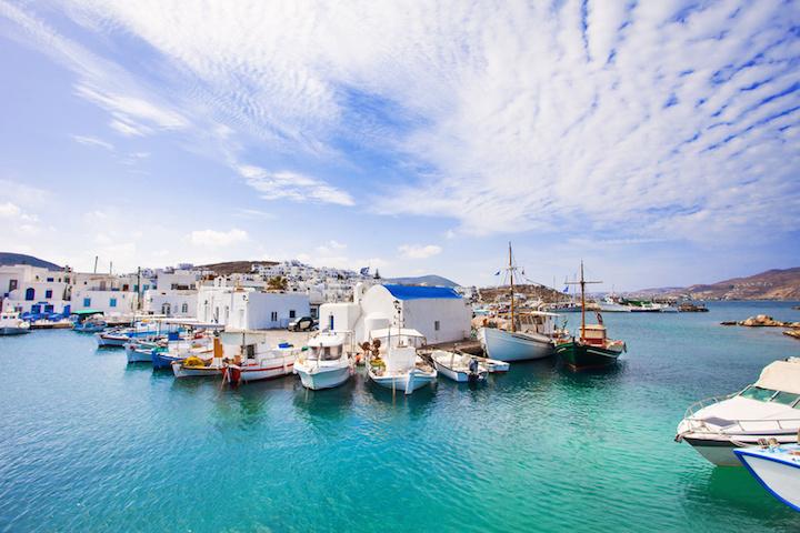 Náoussa : ville touristique de Paros