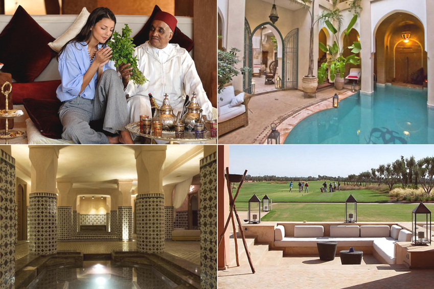 Services to be absolutely tested in a charming riad in Marrakech