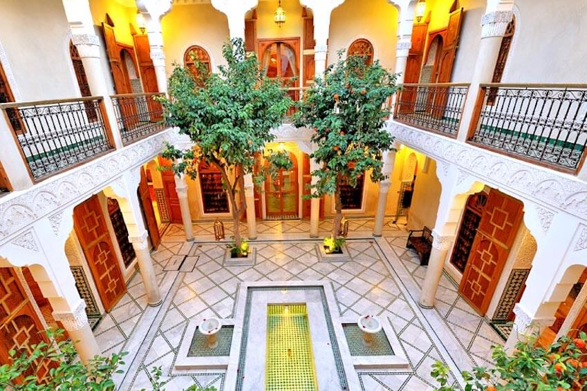 How to rent a riad in Marrakech?