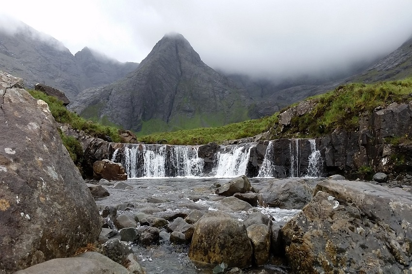 1. Fairy Pools, île de Skye