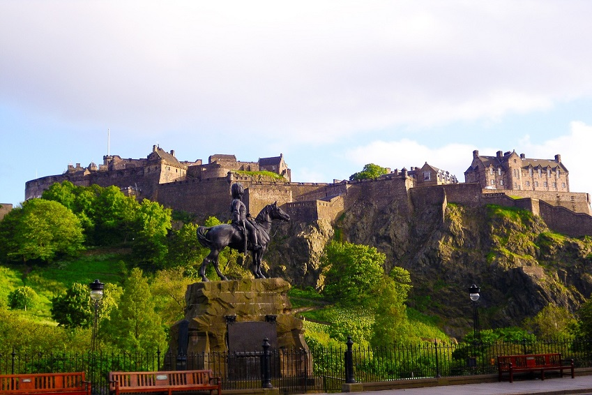 3. Edinburgh Castle
