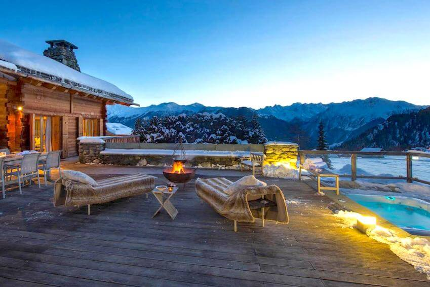 The chalets: the stars of the mountains