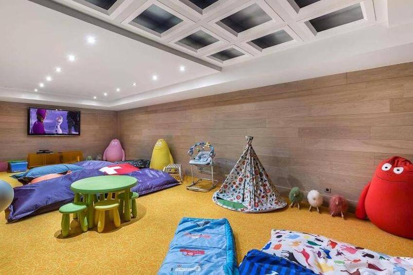A game room for the younger ones