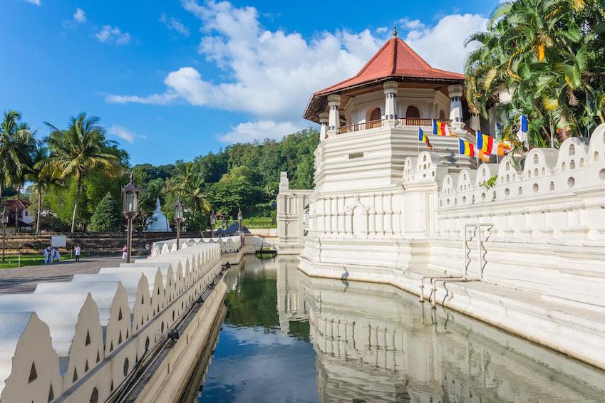 The sacred city of Kandy - Sri Lanka
