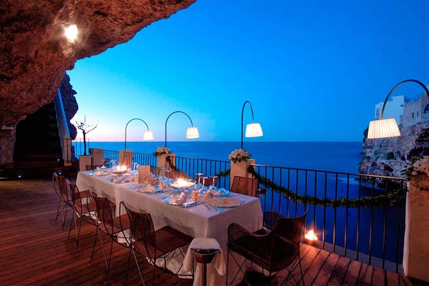 Restaurant Grotta Palazzese – Puglia, Italy