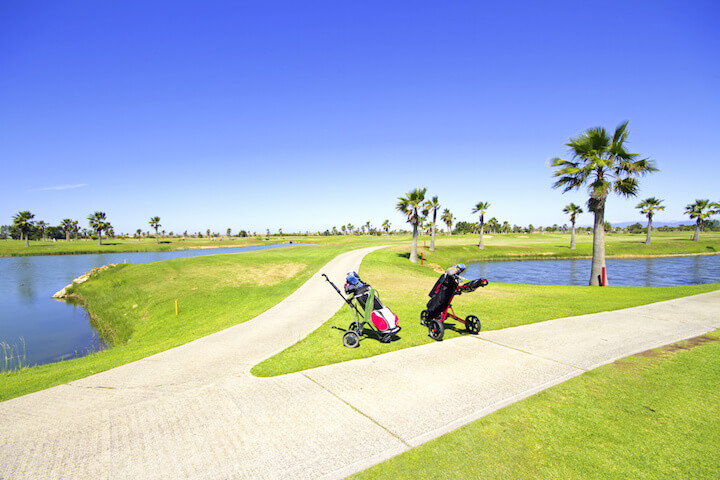 A region favoured by golfers and surfers