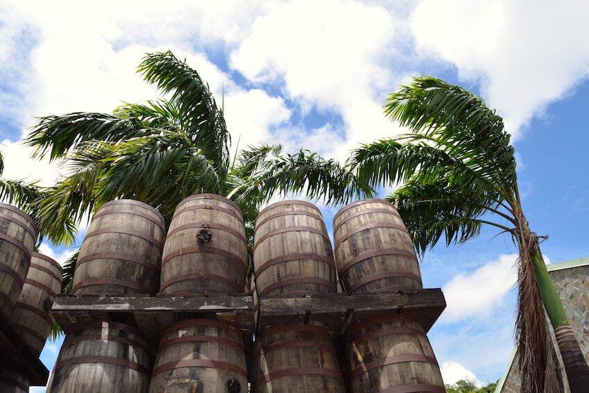The rum distilleries