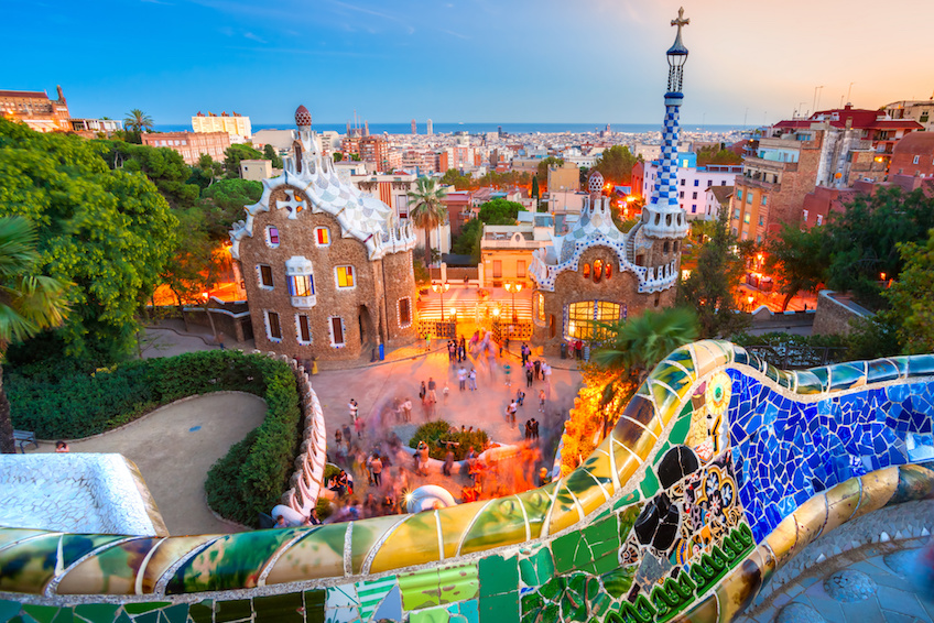 Numéro 3 : Barcelone