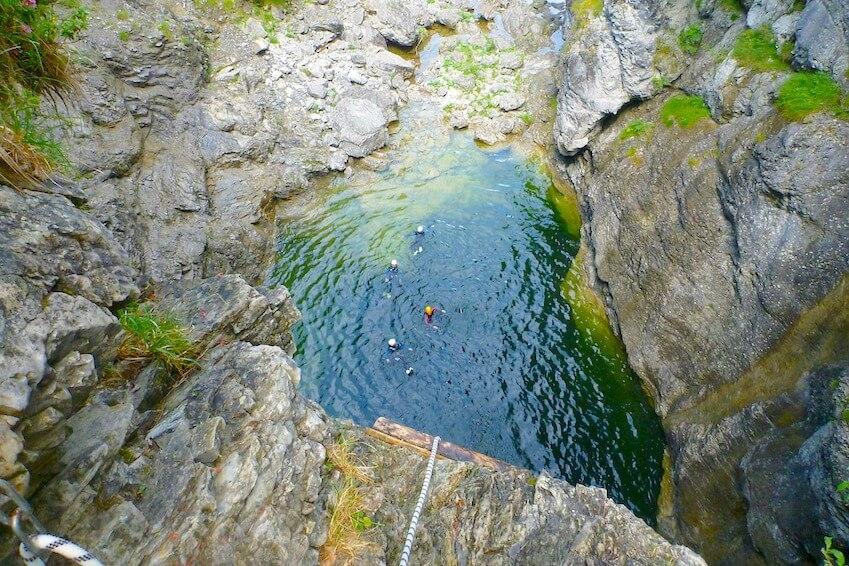 3 - Du canyoning, le combo entre nature et adrénaline