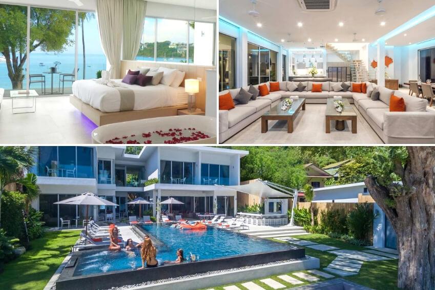 5- Villa Baan Amandeha - Phuket, Thaïlande