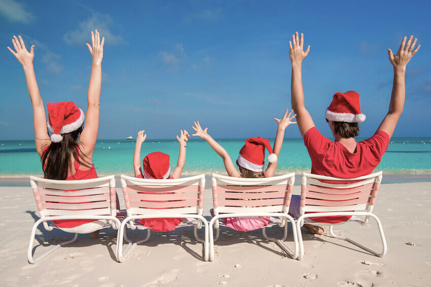Spend Christmas under the sun in Florida