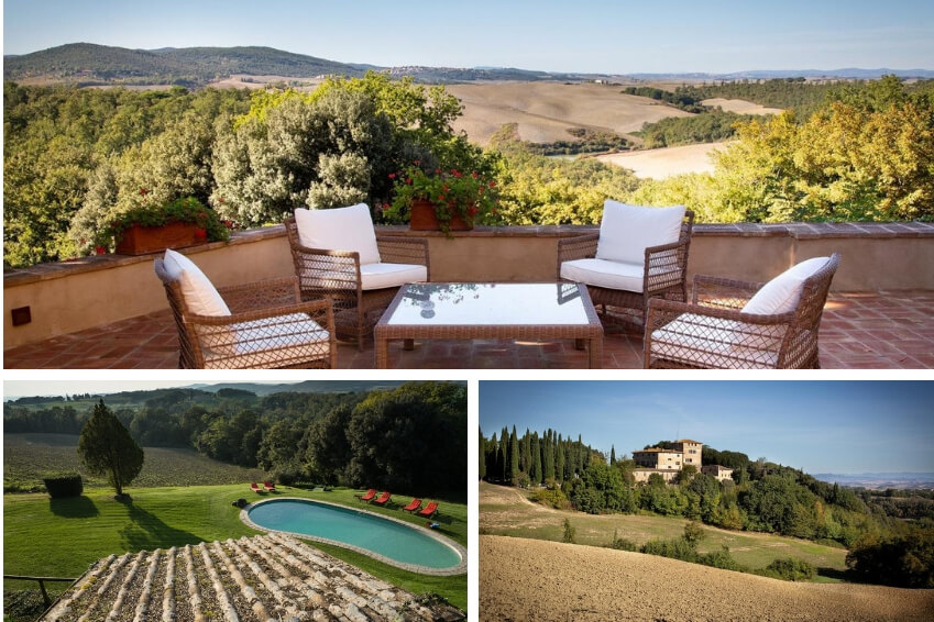 8- Succumb to the charms of Tuscany in our Castello Buenconvento