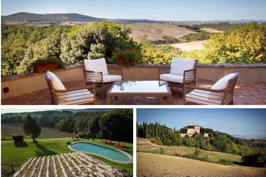 8- Succombez aux charmes de la Toscane dans notre Castello Buenconvento