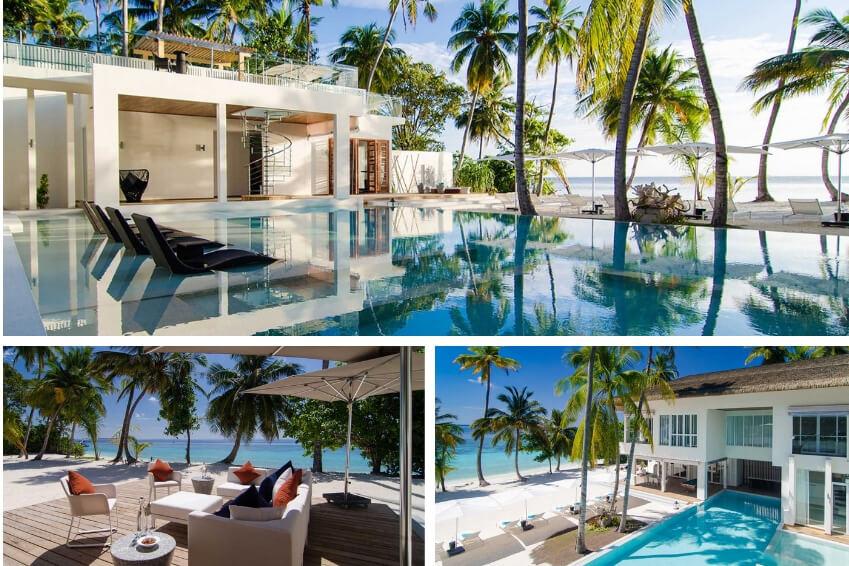7- Convolez au soleil en réservant votre lune de miel dans notre Amilla Villa Estate aux Maldives