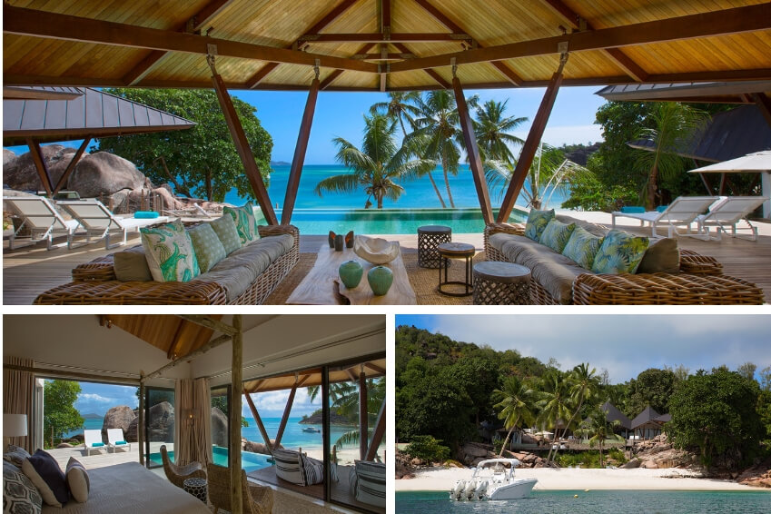 6- Fly to the Seychelles with our Beach Villa Praslin