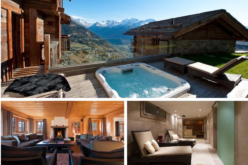 5- Prenez de la hauteur dans notre chalet Northstar dans les Alpes Suisses