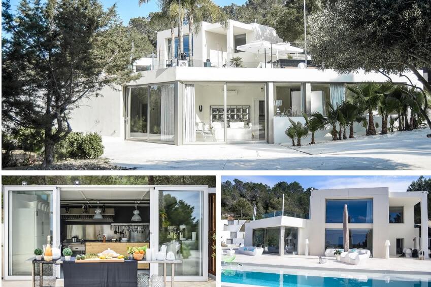 4- Combine love with nightlife by choosing Villa 881 in Ibiza