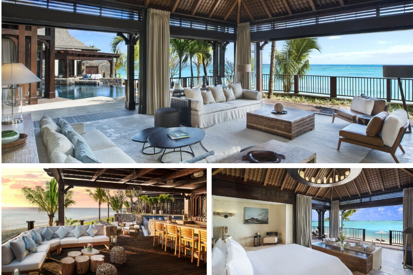 2- Treat yourself to a unique experience in The Saint Régis Villa in Mauritius