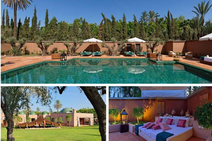 1- Discover the traditional charms of Marrakech in Villa Azzaytouna