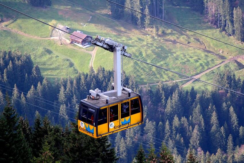 7- Take the Monte Baldo cable car to Malcesine
