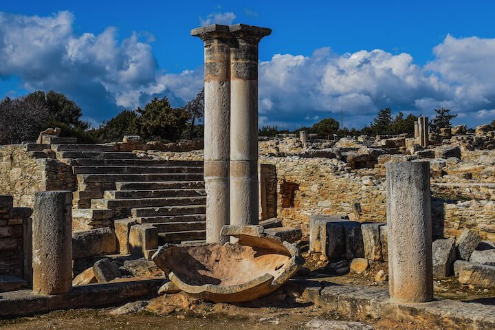 Un parcours archéologique