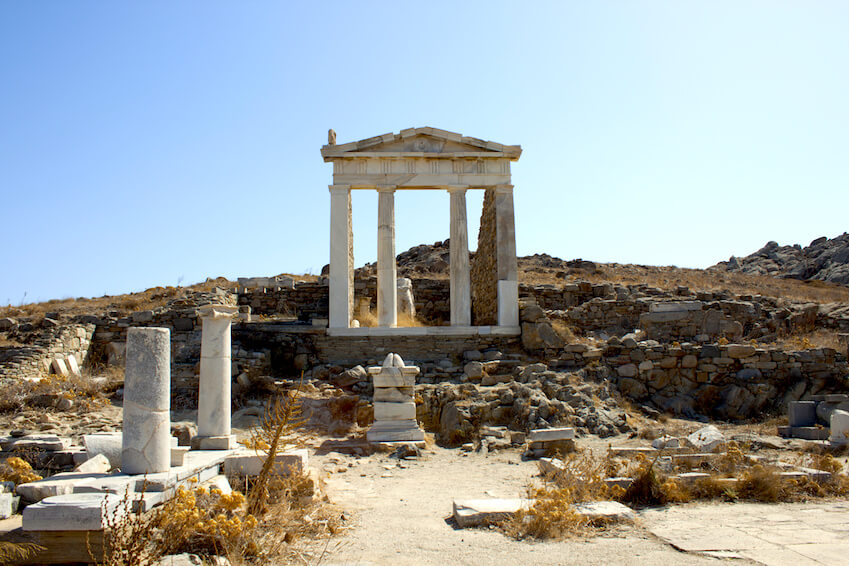 Délos, une île sacrée