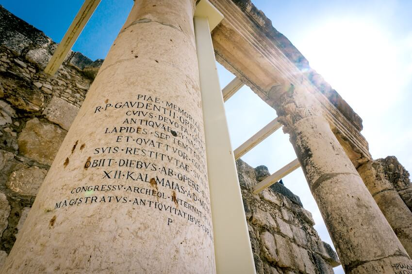 Delos, calm against the bustle of Mykonos