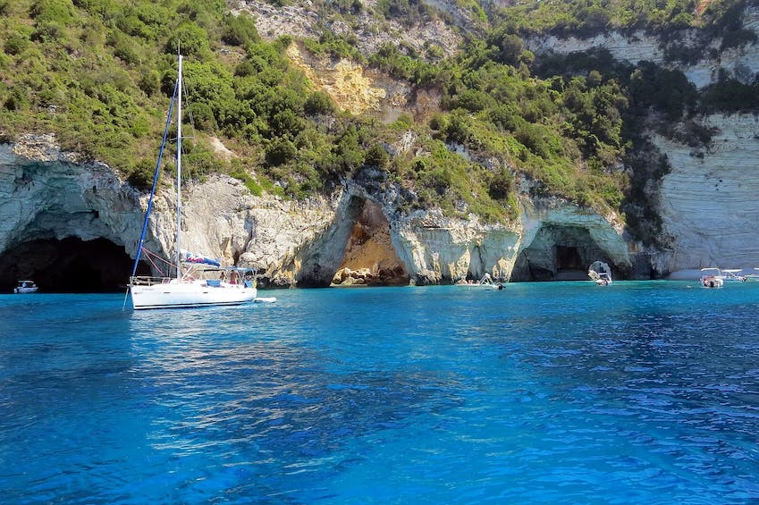 The beautiful sights of the Ionian islands of Lefkada and Paxos