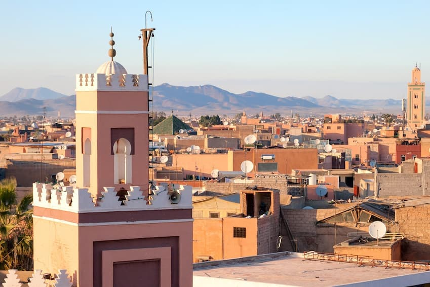 5- Marrakech, Morocco - The Mummy