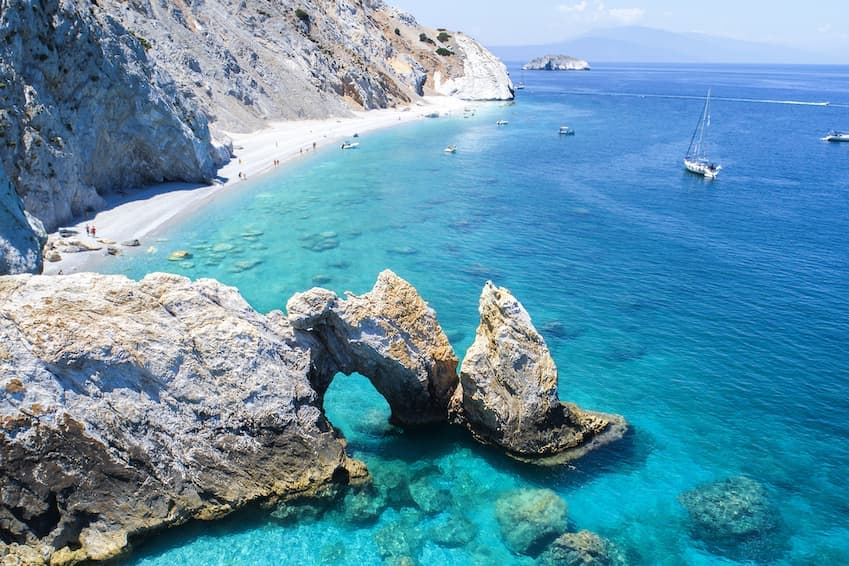 4- Skiathos, Greece - Mamma Mia!