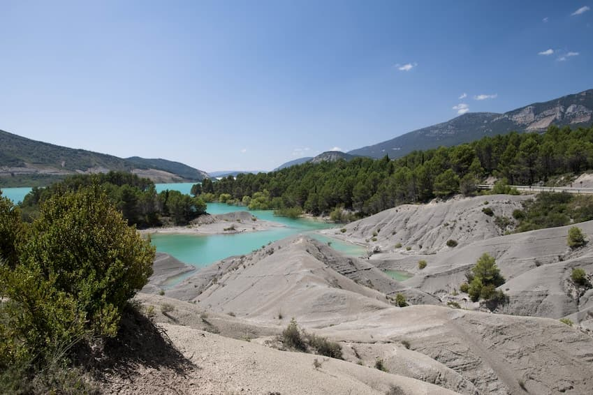 Lac de Yesa, Pyrenees. Spain
