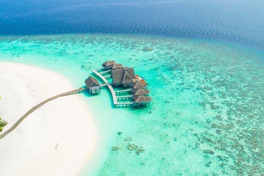 8- The Maldives